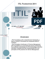 ITIL Foundation Workshop