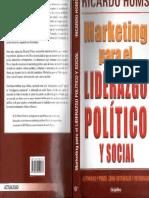Marketing Para El Liderazgo Politico y Social