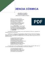 CONSCIENCIA CÓSMICA