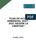 Plan de Accion Ambiental Regional 2013 2021