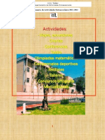 Anuario actividades 2011-12