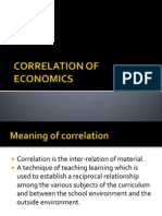 5)Correlation of Economics