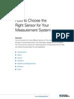 1-How to Choose a Sensor