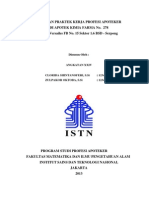 Laporan PKPA Apotek KF No. 278 Versailes BSD, Apoteker ISTN