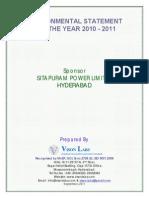 Envi Statement 2010 11 SPL
