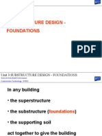 Unit 5 Substructure Design Foundations Compressed