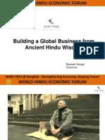 Shri Ramesh Vangal-Katra Group at WHEF 2013