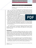 Foreign Language Annals, 2013 Vol. 46, Iss. 2, pp. 143–145