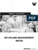 Air Volume Measurement Meter