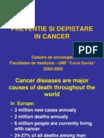 Preventie Si Depistare in Cancer