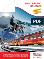 Switzerland - 2013 Tourism