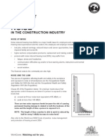 Factsheet Noise in the Construction Industry 1389