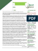 Anacofi News Septembre 2013
