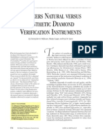 De Beers Natural Versus Synthetic Diamond Verification Instruments