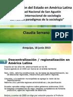 Descentralización del Estado en América Latina