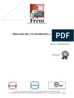 Primarie del CentroDestra a Firenze