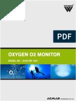 Oxygen O2 Monitor
