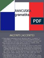 Pregled francuske gramatike