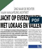 HBVL 30/09/'13 - Jacht op everzwijnen met lokaas en vallen