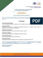 18/10/2013 L'Attività Fisica come Strumento per Prevenire le Patologie