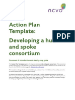 Developing a hub and spoke consortium A