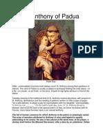 St Anthony of Padua[1]