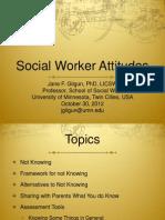 Social Worker Attitudes