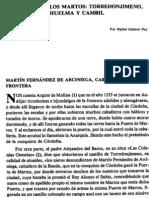 El Solar de Los Martos,Torredonjimeno,Huelma y Cambil