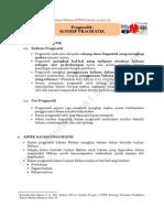 Nota - Konsep Pragmatik