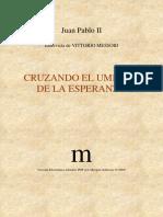 12-CRUZANDO EL UMBRAL DE LA ESPERANZA Juan Pablo II .pdf