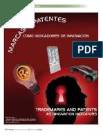 Marcas y patentes como indicadores de innovación