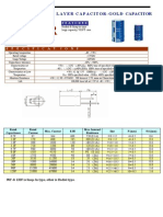 Double Layer Capacitor