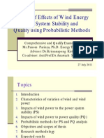 Impact of wind power to the power system