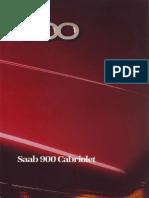International - 1987 Saab 900 Convertible