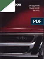 Australia - 1989 Saab 900 brochure