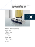 TP52 Design Report Rumb Runner