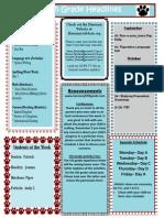 Week 8 Newsletter