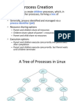 Process Creation and Termination