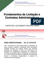 04  Roberto-Contratações Públicas - Legislação e Fundamentos