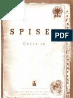 Spisek  | Wyjaśnienie (Tadeusz Pióro)