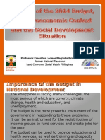 Analysis on 2014 Budget