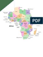 Harta Politica - Africa
