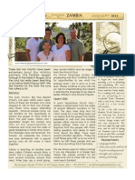 Jalowiec Prayer Letter September 2013