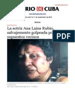 Boletín de Diario de Cuba | Del 5 al 11 de septiembre de 2013