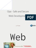 Opa - Safe and Secure Web Development