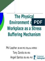 Stress Buffering Mechanism