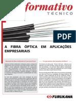 A FIBRA ÓPTICA EM APLICAÇÕES EMPRESARIAIS
