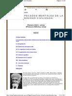 KONRAD LORENZ - OchoPecadosMortales