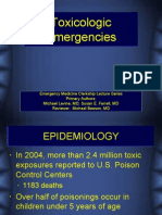 Toxicology Emergencies CDEM