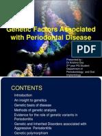genetic factors associated with periodontal diseases